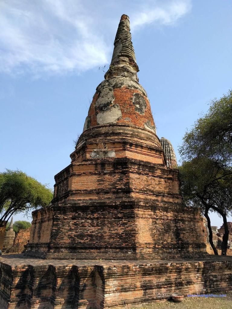 Wat Phra Ram里的佛塔