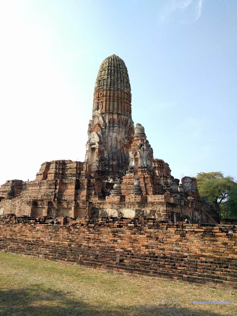 Wat Phra Ram的主佛塔群