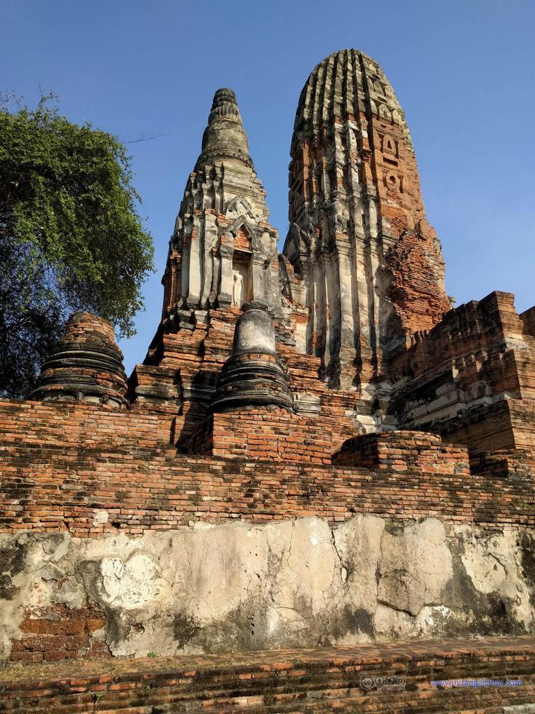 Wat Phra Ram的佛塔群