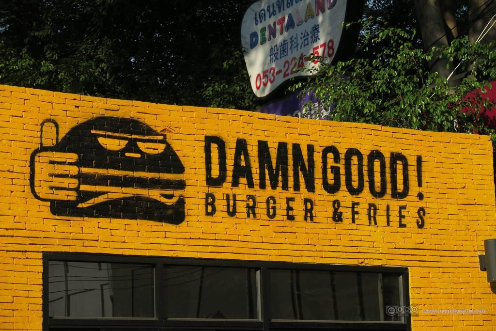 当时看到这个汉堡的造型觉得很有意思