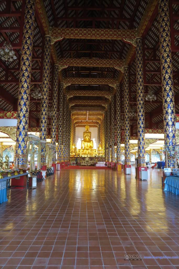 Wat Suan Dok的大殿