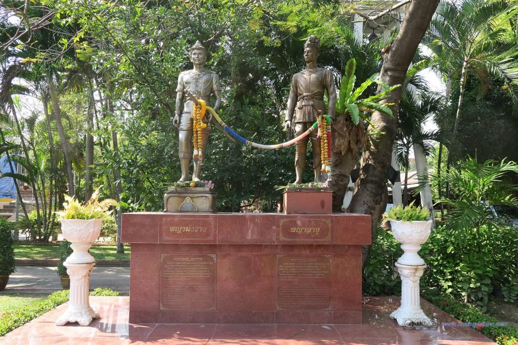 Wat Phra Singh,清迈建国者的纪念碑