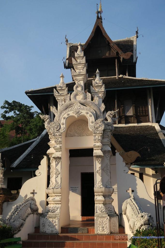 Wat Chedi Luang Worawihan内部一个附属寺庙建筑,现在已经成了博物馆,介绍寺庙的历史。