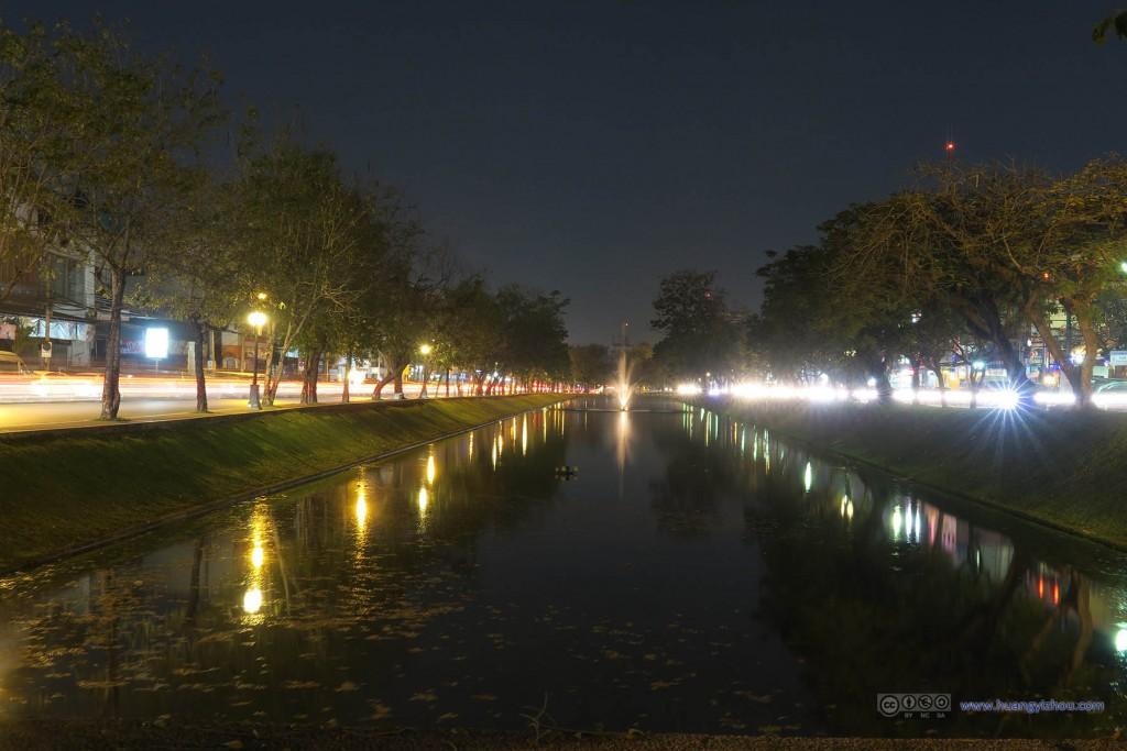 清迈,护城河
