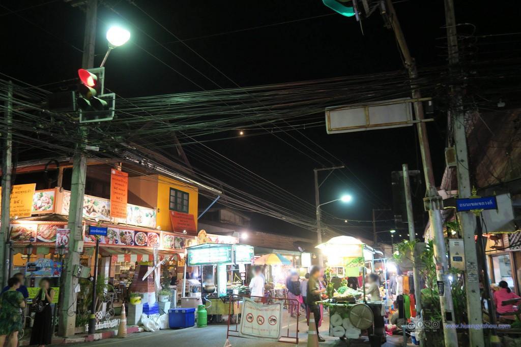 Pai夜市入口