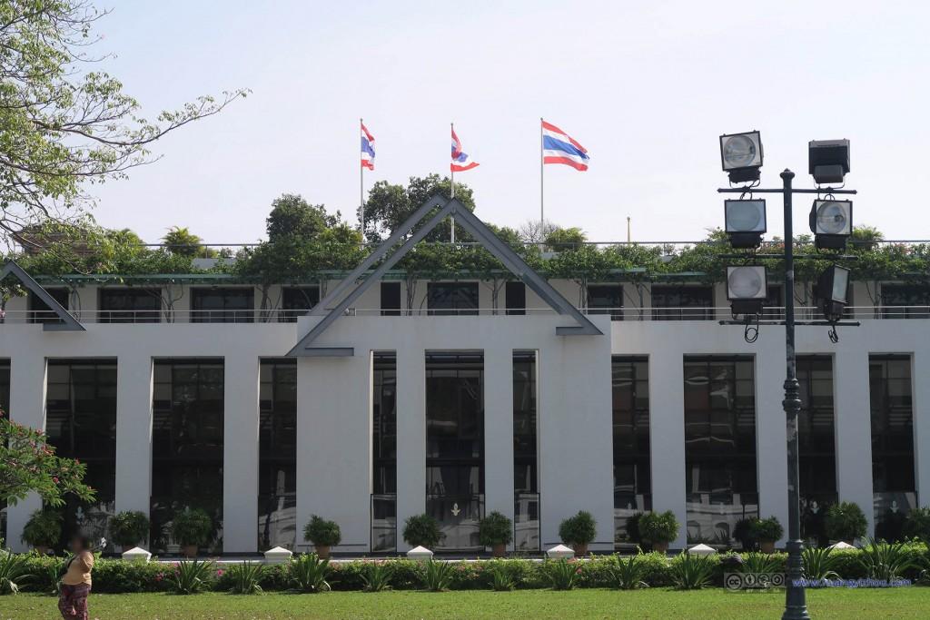 大皇宫东面的一建筑,好像是泰国商务委员会
