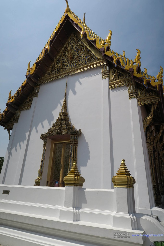 玉佛寺里的Ho Phra Nak
