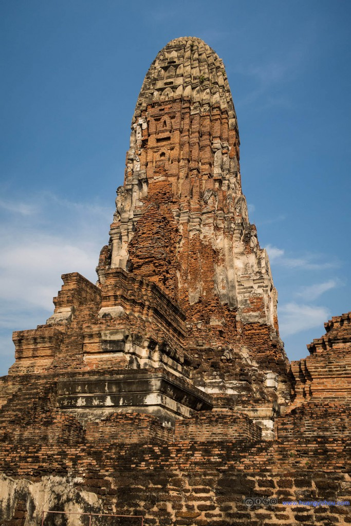 Wat Phra Ram的主塔