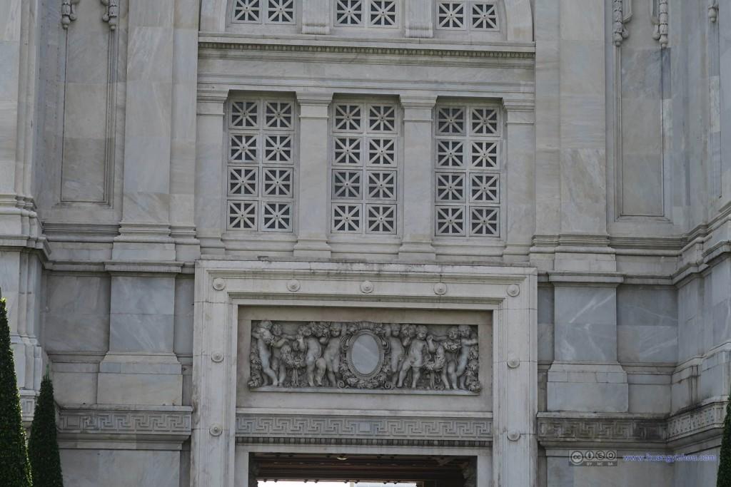 阿南达宫的雕塑细节