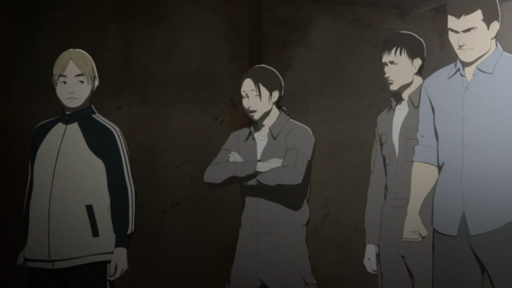 Greyish and under-saturated tone in Ajin