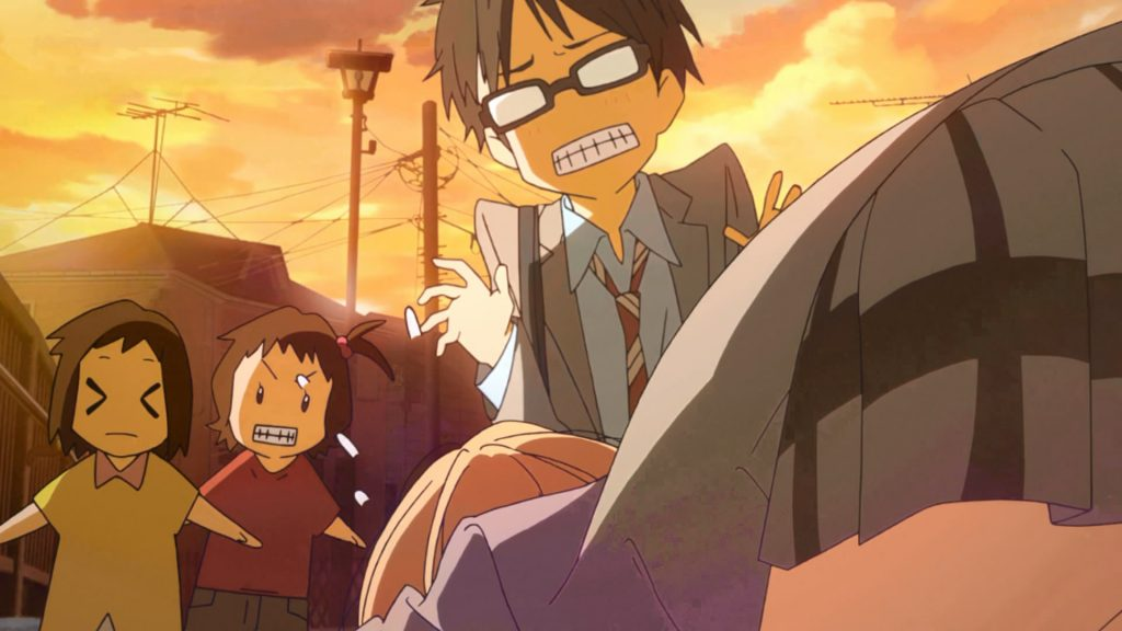 The comedies in Your Lie in April that are too frequent