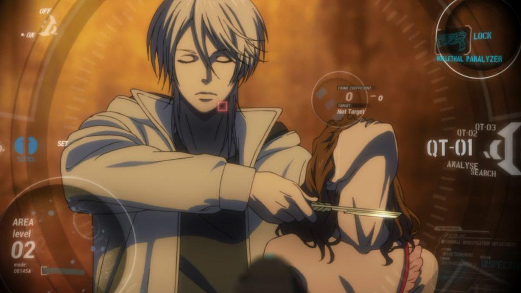 Shōgo Makishima Killing Hostage under Sibyl Watch